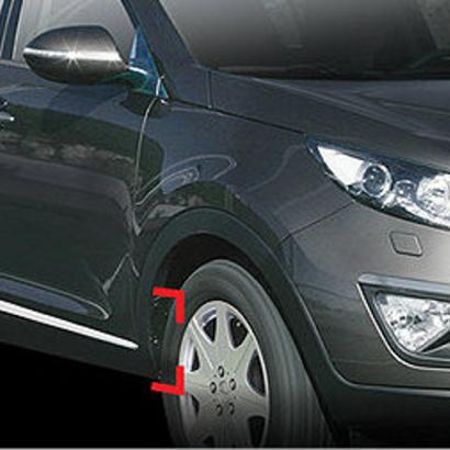 Накладки на боковые двери на Kia Sportage 3 (III)