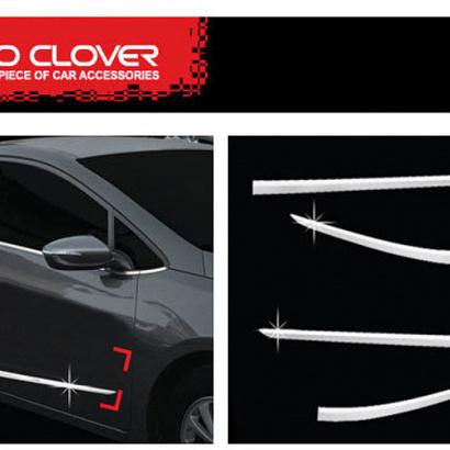 Накладки на боковые двери на Kia Cerato 3
