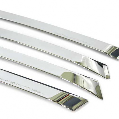 Дефлекторы боковых окон на Hyundai Elantra 5 (Avante MD)