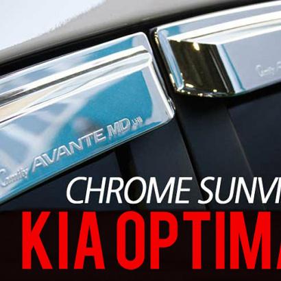 Дефлекторы на окна на Kia Optima 3 (K5)
