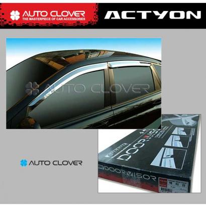 Дефлекторы на боковые окна на Ssang Yong Actyon 1