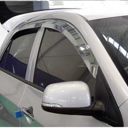 Дефлекторы на боковые окна на Kia Picanto 2