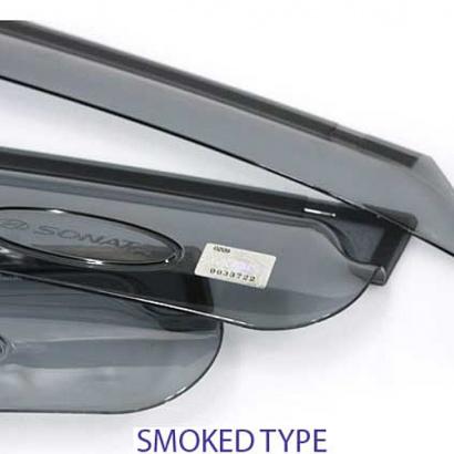 Дефлекторы на боковые окна неломающиеся на Hyundai Sonata 6 (YF)