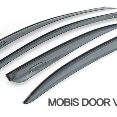 Дефлекторы на боковые окна на Kia Soul 1 поколение