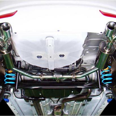 Выхлопная секция с раздвоением на Hyundai Elantra 5 (Avante MD)