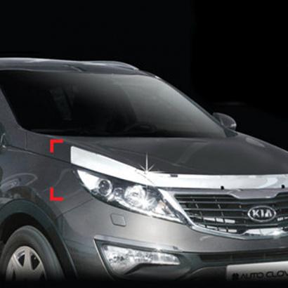 Дефлектор капота на Kia Sportage 3 (III)