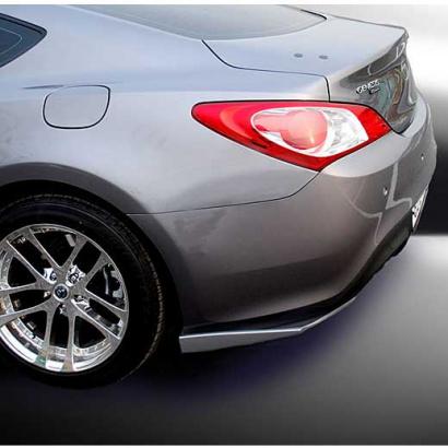 Накладки-элероны на задний бампер на Hyundai Genesis  1