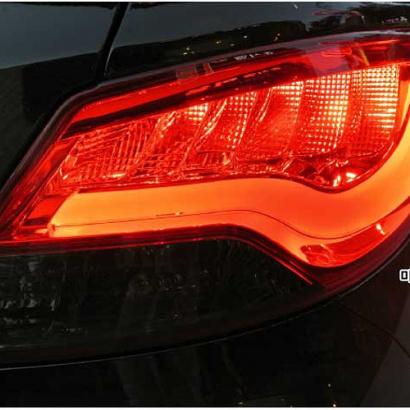 Задняя светодиодная оптика на Hyundai Solaris