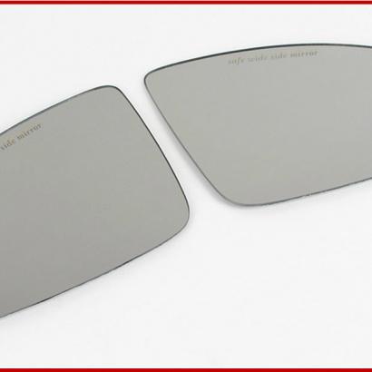 Зеркальные элементы в боковые зеркала широкоугольные на Chevrolet Cruze 2