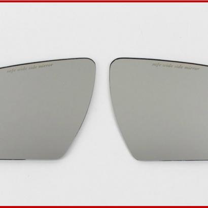 Зеркальные элементы в боковые зеркала широкоугольные на Kia Soul 1 поколение