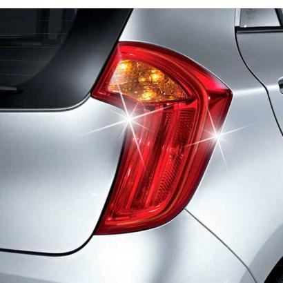 Накладки на заднюю оптику на Kia Picanto 2