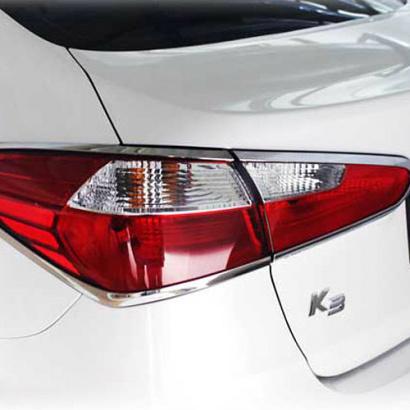 Молдинги задних фонарей на Kia Cerato 3