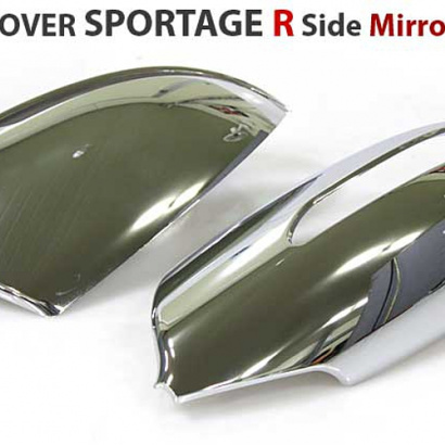 Молдинг боковых зеркал на Kia Sportage 3 (III)
