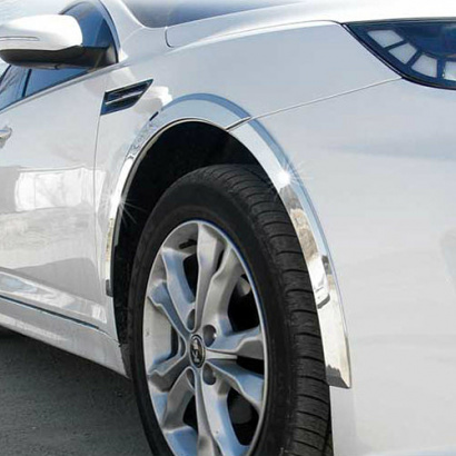 Молдинги колесных арок на Kia Optima 3 (K5)