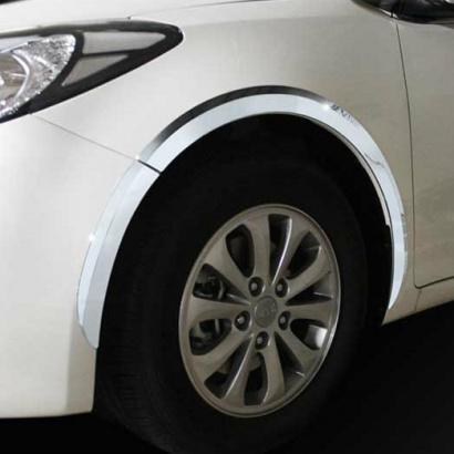 Молдинг колесных арок на Kia Cerato 3