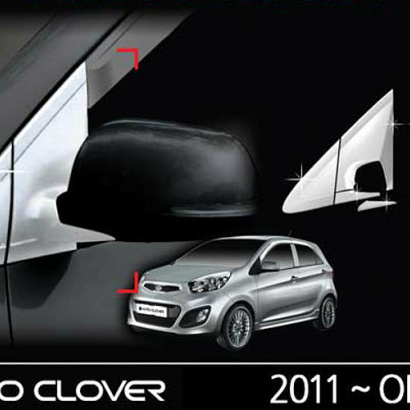 Молдинг крепления зеркал на Kia Picanto 2