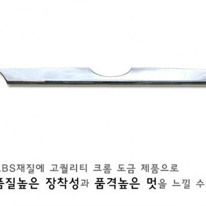 Молдинг на заднюю дверь на Hyundai ix35