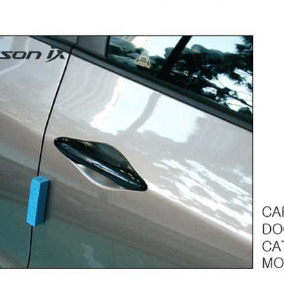 Молдинг ручек дверей на Hyundai ix35