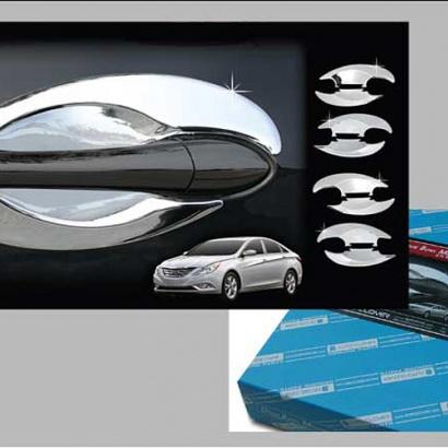 Молдинг ручек дверей на Hyundai Sonata 6 (YF)