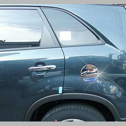 Накладка на крышку топливного бака на Kia Sorento XM