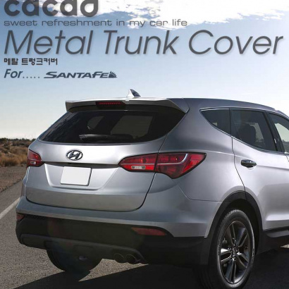 Накладка на порог багажника на Hyundai Santa Fe 3 (DM)