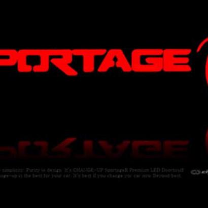 Накладки на пороги в салон на Kia Sportage 3 (III)