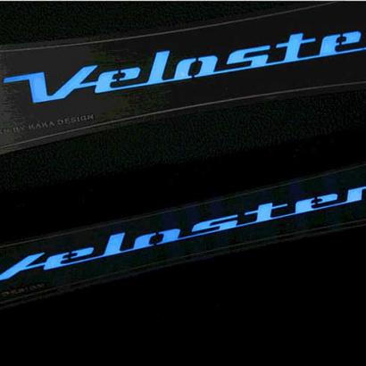 Накладки на пороги в салон светодиодные на Hyundai Veloster