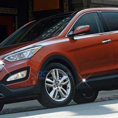Хром-пакет 3 элемента на Hyundai Santa Fe 3 (DM)