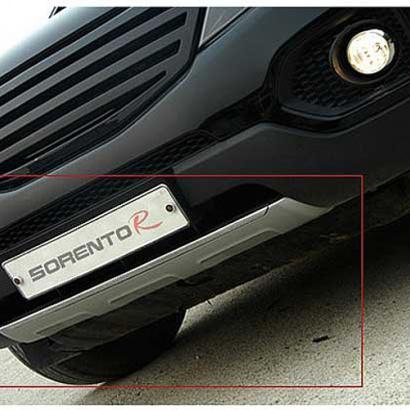 Протекторы переднего и заднего бамперов на Kia Sorento XM