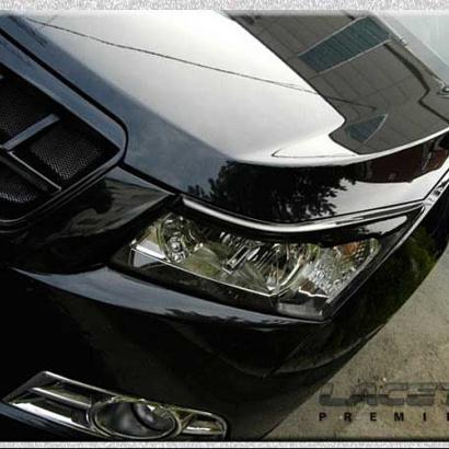 Реснички на фары + накладки на задние крылья на Chevrolet Cruze 2