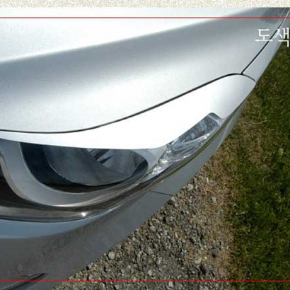 Реснички на фары на Hyundai Elantra 5 (Avante MD)