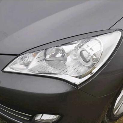 Реснички передней оптики на Hyundai Genesis 1