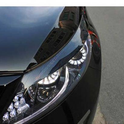 Реснички на фары с самосветящейся голограммой на Kia Sportage 3 (III)