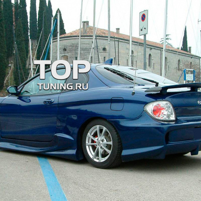 Задний бампер - Обвес на Hyundai Tiburon Coupe RD2