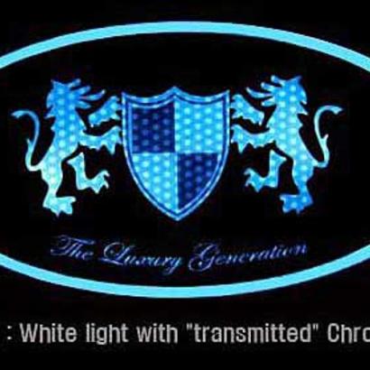 Эмблемы со светодиодной подсветкой на Kia Sorento XM