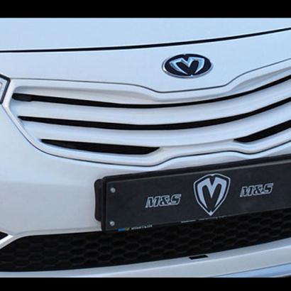 Эмблемы (передняя, задняя, клаксон) на Kia Cerato 3