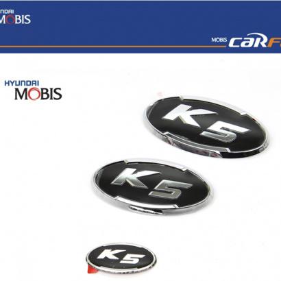 Эмблемы набор 3 шт. на Kia Optima 3 (K5)