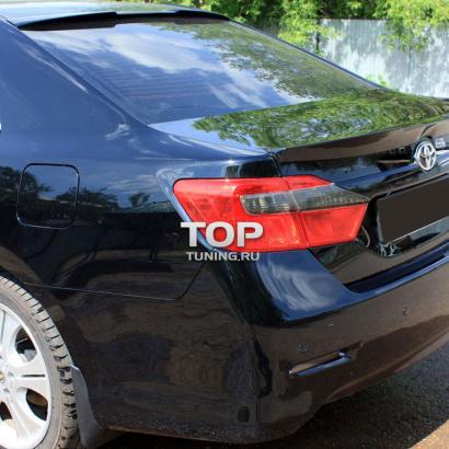 Спойлер на крышку багажника на Toyota Camry V50 (7)