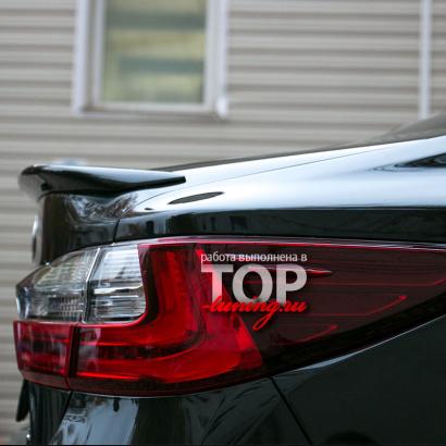 Спойлер на крышку багажника на Lexus ES 6