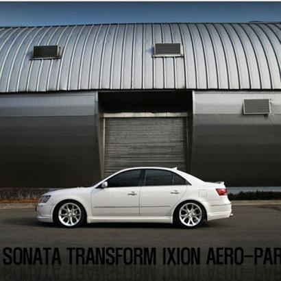 Комплект обвеса на Hyundai Sonata 5 (NF)