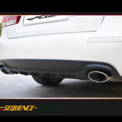 Диффузор заднего бампера на Hyundai Sonata 5 (NF)