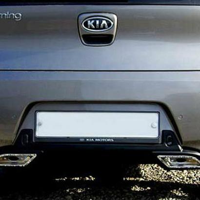 Диффузор заднего бампера на Kia Picanto 2