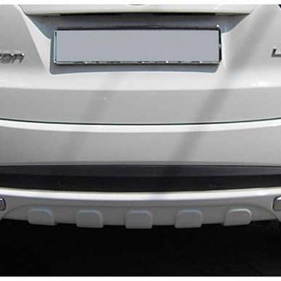Диффузор заднего бампера окрашенный на Hyundai ix35