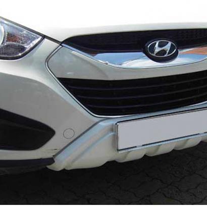 Накладка переднего бампера на Hyundai ix35