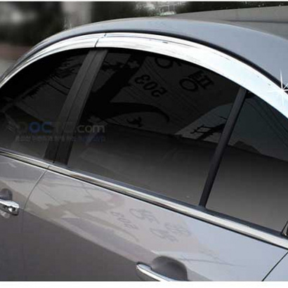 Дефлекторы на боковые окна Auto Clover C060 на Hyundai Grandeur 5