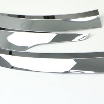 Дефлектор капота Auto Clover Chrome на Hyundai Santa Fe 3 (DM)
