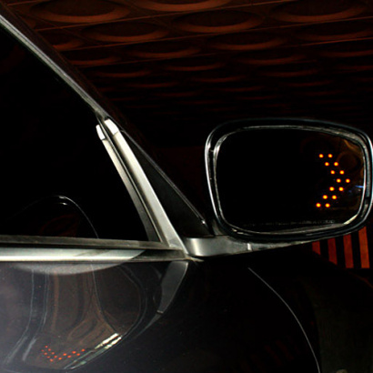 Зеркала широкого обзора с повторителями на Infiniti G 25 седан