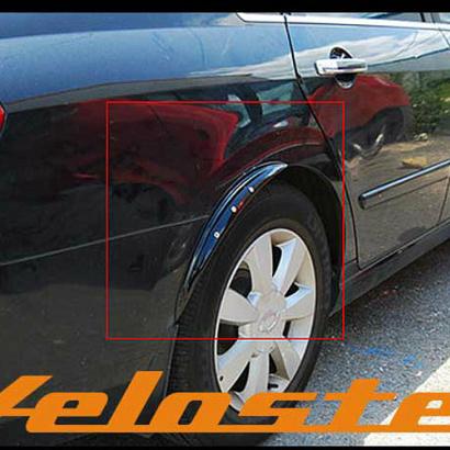 Накладки на задние крылья с подсветкой на Hyundai Veloster