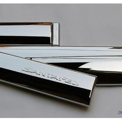 Накладки на двери на Hyundai Santa Fe 3 (DM)