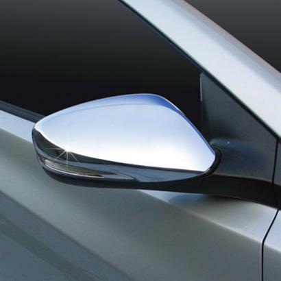 Молдинги боковых зеркал на Hyundai Veloster